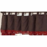 Sweet JoJo Designs Wild West Cowboy Window Valance