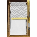 Sweet JoJo Designs Zig Zag Yellow & Grey Chevron Hamper