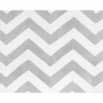 Sweet JoJo Designs Zig Zag Yellow & Grey Chevron Rug