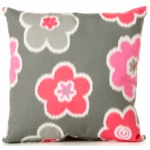 Sweet Potato Addison Throw Pillow in Floral