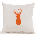 Sweet Potato Echo Cream Buck Pillow