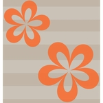 Sweet Potato Echo Flower Wall Decals - Set of 2