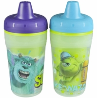The First Years 9 oz Insulated Sippy Cups 2 PK - Monsters Inc