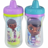 The First Years 9oz Insulated Sippy Cups, 2 PK - Doc McStuffins
