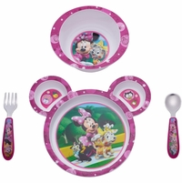 The First Years Disney Minnie Mouse 4-Piece Feeding Set