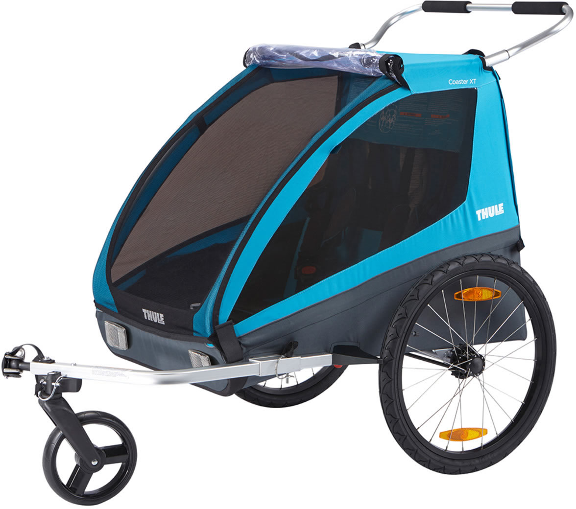 THULE Coaster XT Bicycle Trailer - Blue