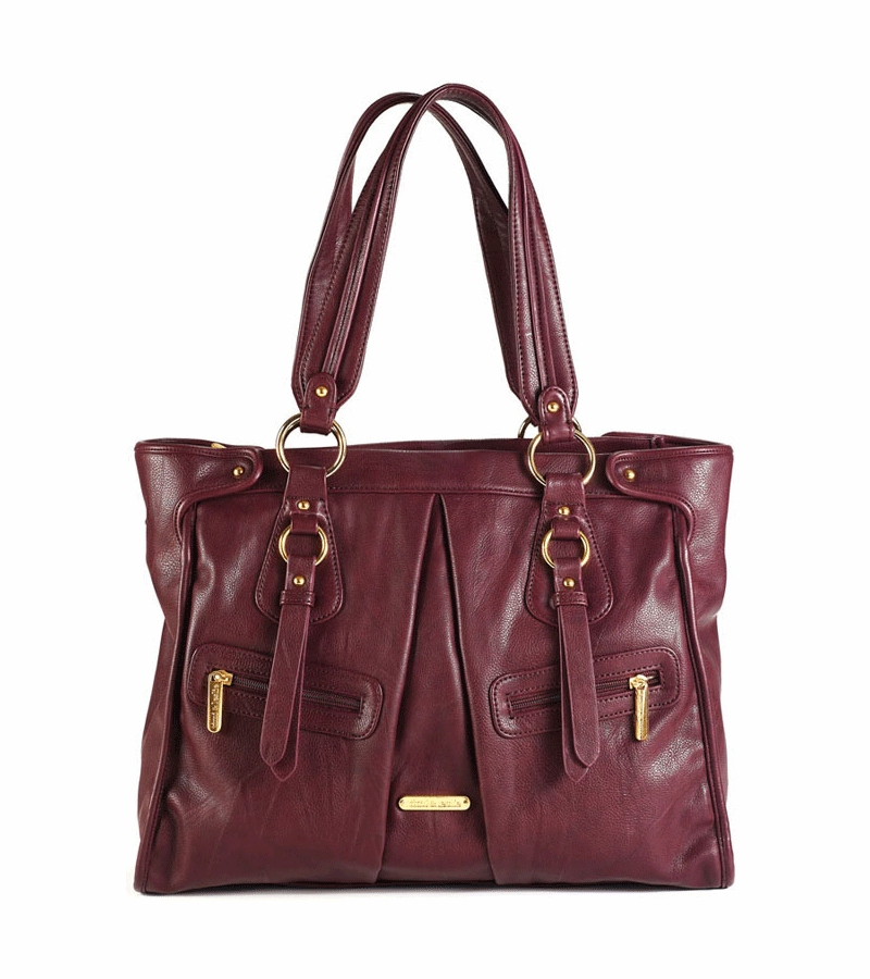 timi leslie dawn diaper bag in burgundy. Black Bedroom Furniture Sets. Home Design Ideas