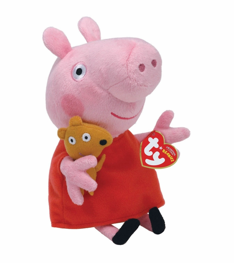 Peppa Pig Toys : Ty beanie babies peppa pig quot