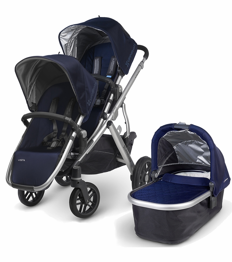 UPPAbaby 2016 VISTA Stroller & 2017 RumbleSeat - Taylor