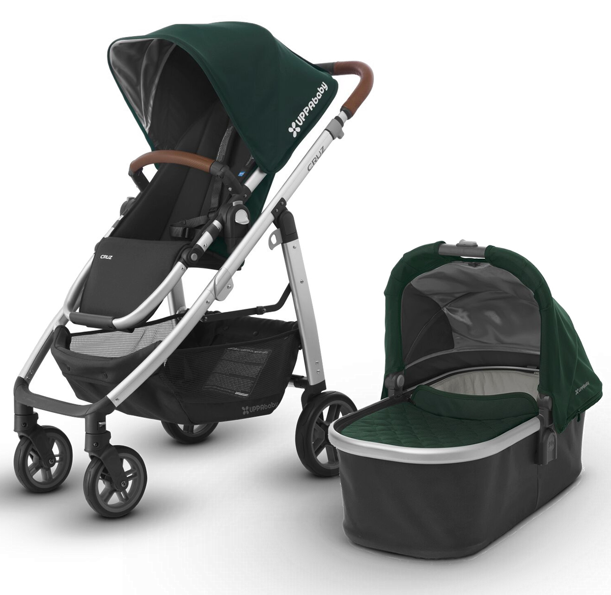 Uppa Baby 2017 CRUZ Stroller & Bassinet - Austin (Hunter/...