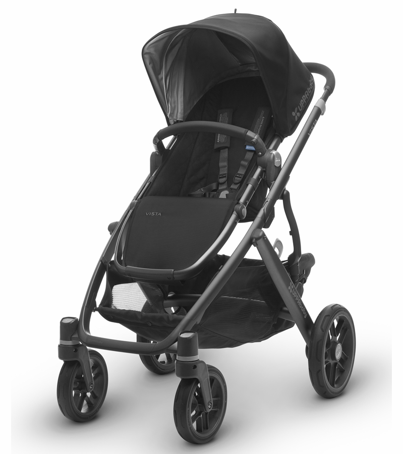 UPPAbaby 2017 VISTA Stroller - Jake (Black/Carbon)