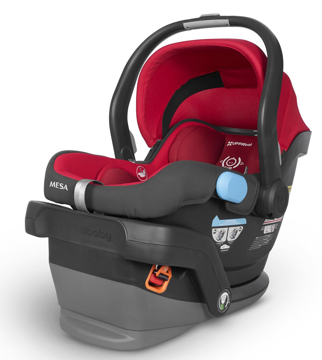 Uppa Baby 2018 MESA Infant Car Seat - Denny (Red)