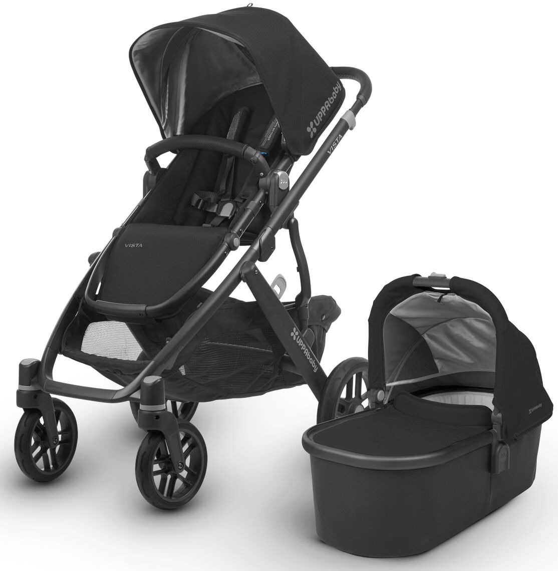 Uppa Baby Vista 2018 Stroller In Jake Black