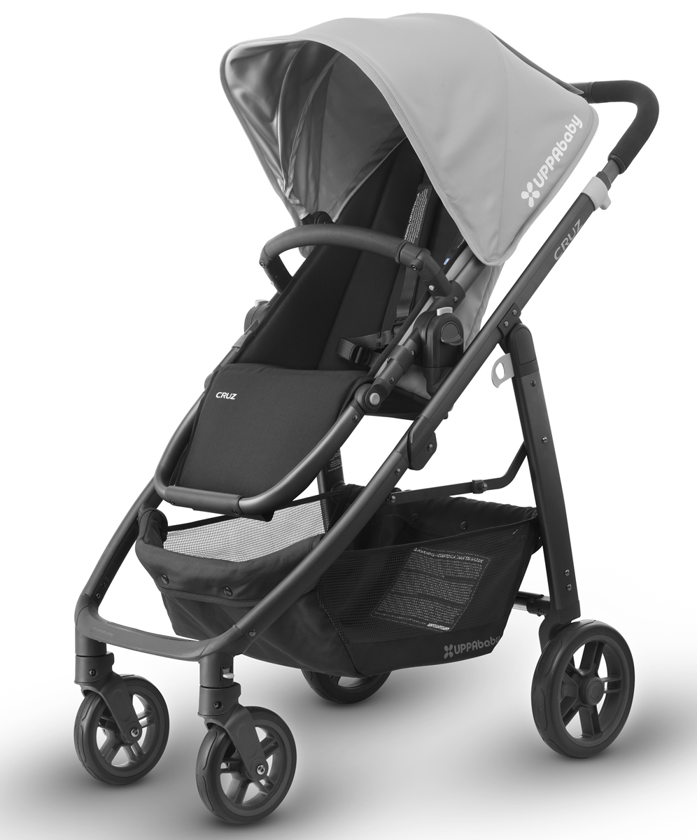 UPPAbaby 2017 CRUZ Stroller - Pascal (Grey/Carbon)