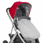 UPPAbaby Ganoosh Footmuff - Pascal (Grey)