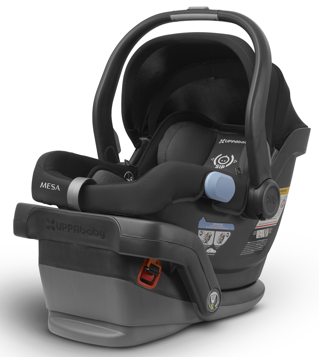 Uppa Baby 2017 / 2018 MESA Infant Car Seat - Jake (Black)