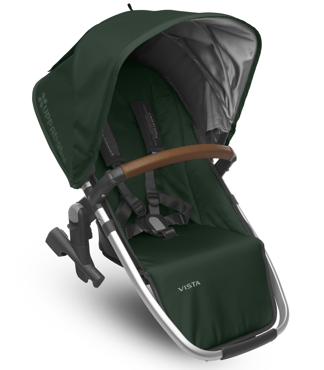 Uppa Baby 2017 RumbleSeat - Austin (Hunter/Silver/Leather)