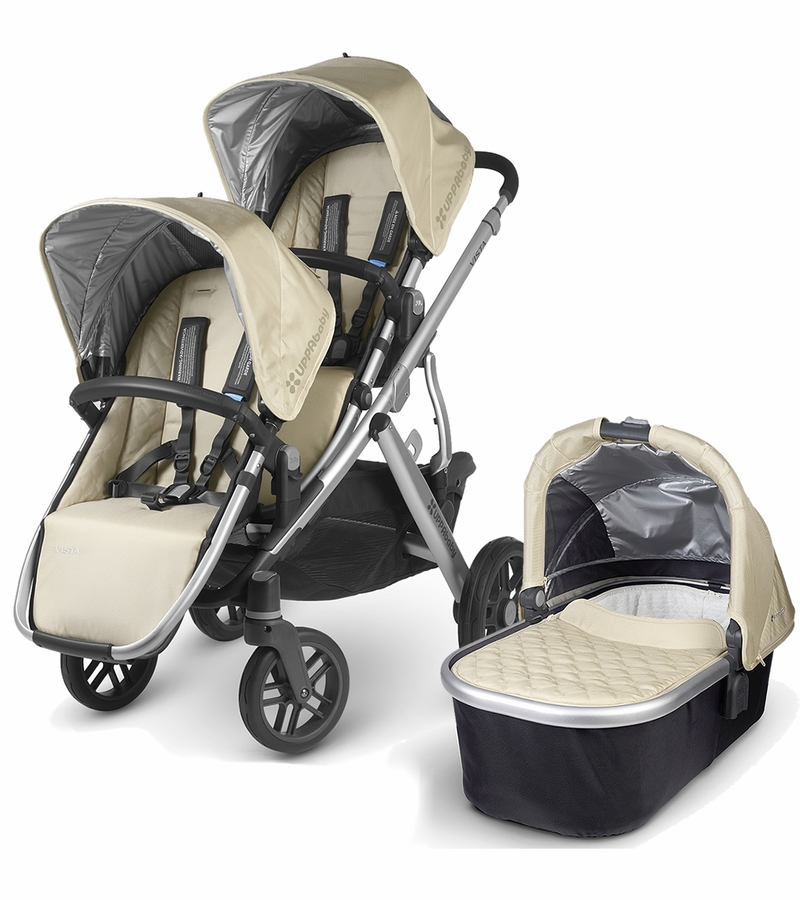 Uppababy 2016 Vista Double Stroller Lindsey