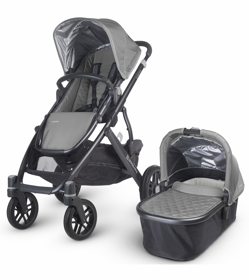 UPPAbaby 2015/2016 VISTA Stroller - Pascal (Grey/Carbon)