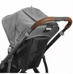 UPPAbaby VISTA Leather Handlebar Covers - Saddle