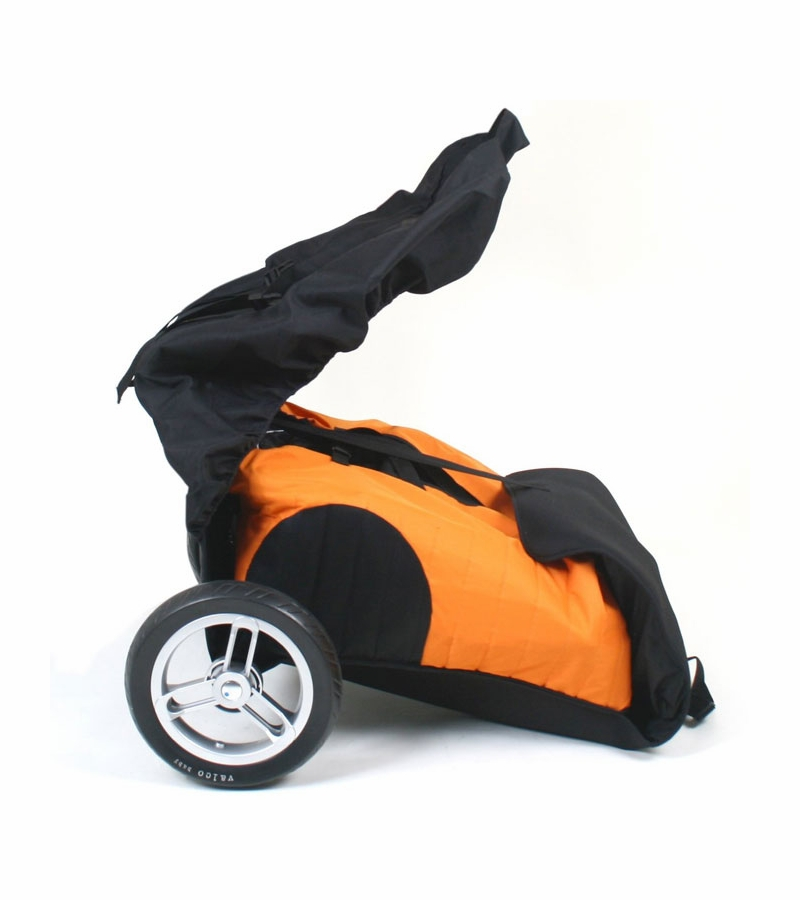 Valco Baby Universal Stroller Roller Travel Bag Orange Black