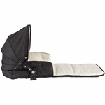 Valco Hush Single Trimode Quad and Matrix Bassinet Raven