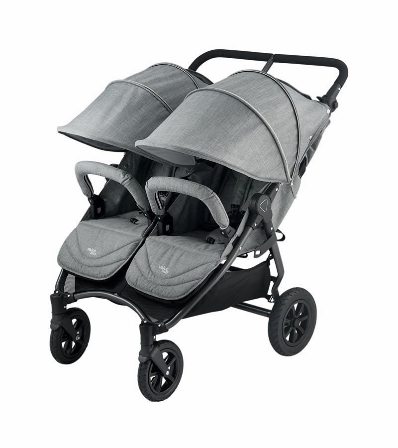 Valco Neo Twin Tailormade Double Stroller Grey Marle