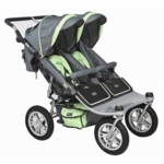 Valco Runabout Tri Mode Twin Stoller in Pistachio
