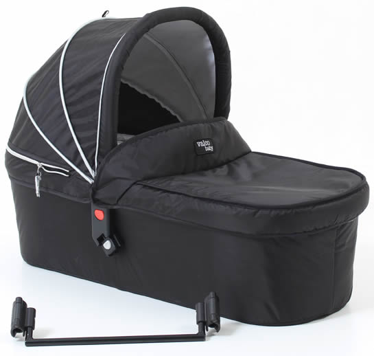 Valco Snap Duo Tailormade Bassinet - Black