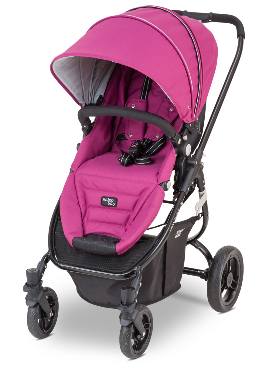 Valco Snap Ultra Tailormade Stroller - Mulberry Wine