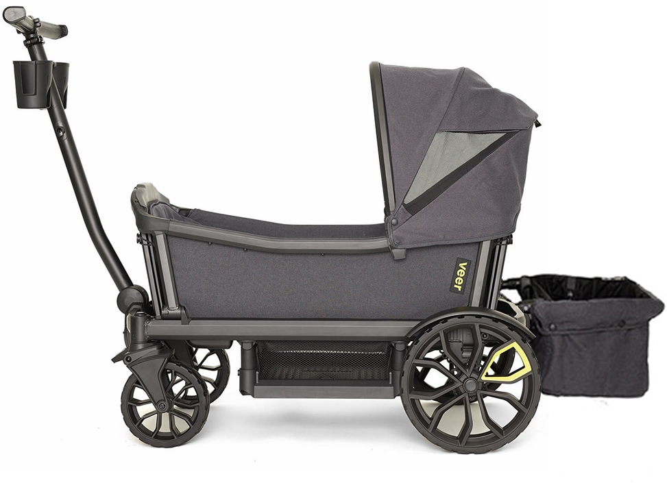 Veer Cruiser Stroller / Wagon with Retractable Canopy + B...