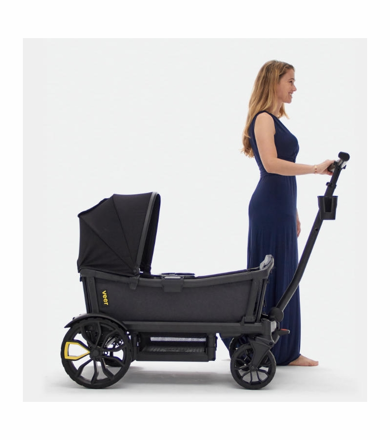 Veer Cruiser Stroller Wagon With Retractable Canopy