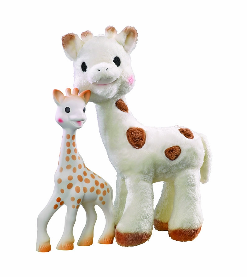 Sophie the giraffe celebrity babies pictures