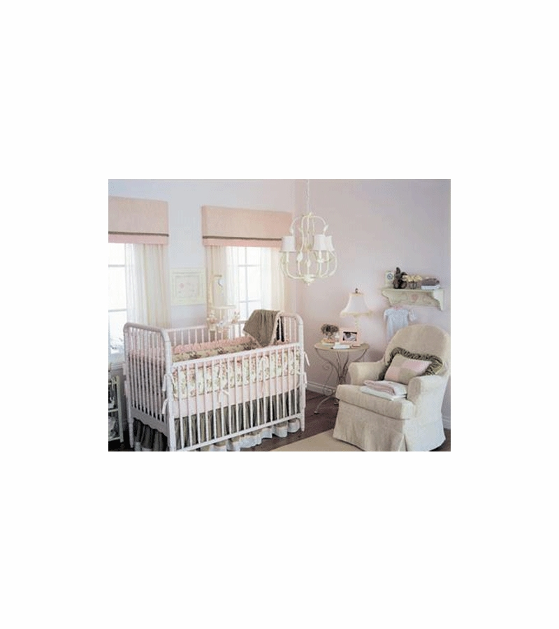 4 crib piece set teaberry vintage
