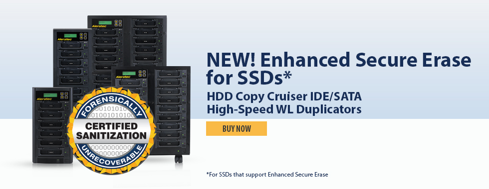 Enhanced Secure Erase For SSDs