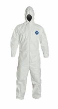 DuPont TY127S Tyvek Disposable Coverall with Hood