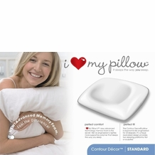 I Love My Pillow- Contour Latex/ Foam Pillow- Standard/Queen Size