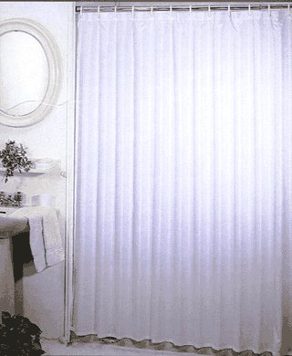 Mold And Mildew Resistant Shower Curtain 70W X 71L Item MSC