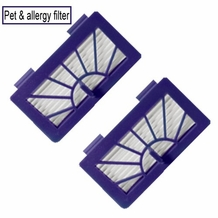 Neato XV-11 Pet & Allergy Filter- Pack of 2