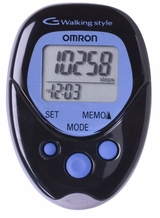 Omron Hj113 Pocket Pedometer Walking Style Black