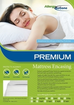 Pristine PREMIUM Dust Mite & Allergen Proof Mattress Encasing- Full