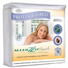 Protect-A-Bed AllerZip Smooth Allergy Mattress Protector