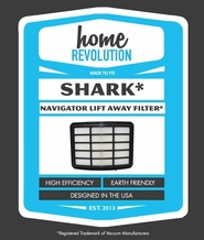 Shark XHF350 Navigator Lift Away NV350 NV351 NV352 Replacement HEPA Filter