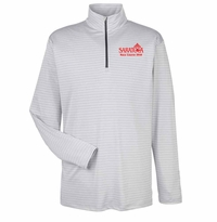 2016 Saratoga Ultra Club Adult 1/4 Zip Pullover, Silver