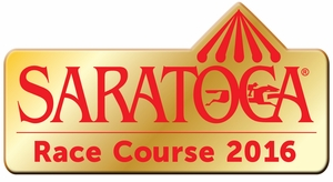 2016 Saratoga Gold Metal Lapel Pin