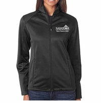2016 Saratoga Ultra Club Ladies' Soft Shell Jacket, Black