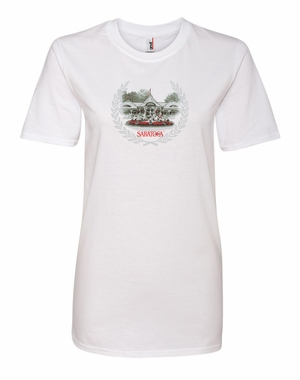 2017 Saratoga Ladies� Club House Tee, White