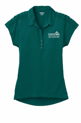 2017 Saratoga Ladies' Logo Polo, Fuel Green