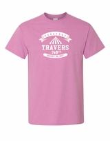 2017 Travers Stakes Logo Tee, Heather Orchid