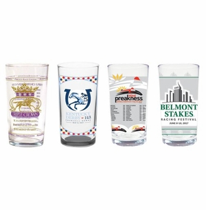 2017 Triple Crown 4 Piece Collector's Glass Set